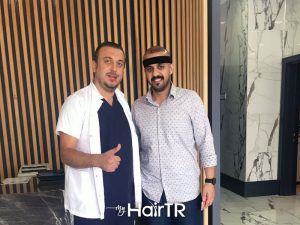 Faruk Yilmaz hair transplantation