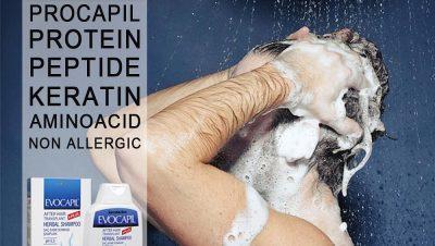 Evocapil after hair transplant shampoo 2