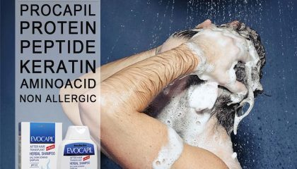 Evocapil after hair transplant shampoo 2